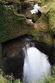 picture of hughes  - Nice waterfall in beautiful setting - JPG