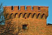 Defensive Tower Dohna. Kaliningrad (former Koenigsberg), Russia