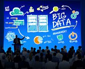 image of seminar  - Diversity Business People Big Data Seminar Conference Concept - JPG