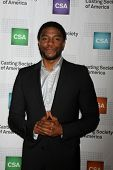 LOS ANGELES - JAN 22:  Chadwick Boseman at the American Casting Society presents 30th Artios Awards at a Beverly Hilton Hotel on January 22, 2015 in Beverly Hills, CA