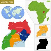 Administrative division of the Republic of Uganda