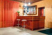 Image of cafe bar interior