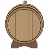 Wooden Barrel Plugged Plug