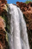 Falls in rocks, Mooney Falls, Grand Canyon, Arizona