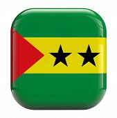 Sao Tome And Principe Flag Icon Image