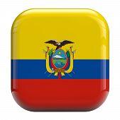 Ecuador Flag Icon Image