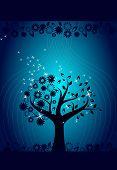 Blue Mystic Tree