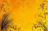 Golden Summer Background