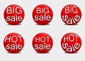 Set sale sticker