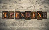 Trending Wooden Letterpress Concept