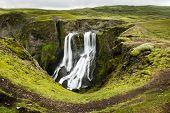 Fagrifoss Waterfall Iceland