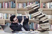Caucasian Businessman With Book