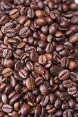 Background Made Of Roasted Coffee Beans