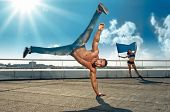 foto of break-dance  - sport - JPG