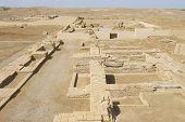 Ruins of Otrar (Utrar or Farab) Central Asian ghost town, South Kazakhstan Province, Kazakhstan.
