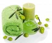 Spa And Aromatherapy Set With Olives