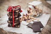 Home Made Chocolate As Gift
