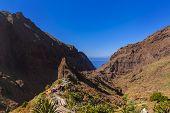 Village Masca at Tenerife island - Canary Spain