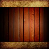 Old grunge wood wall background