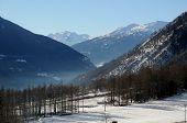 Landscape of Bionaz Valle d' Aosta