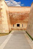 Pedestrian Path On Alba Iulia Fortress