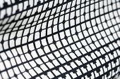 Retro Geometric Textile Black And White Pattern