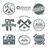 Carpentry Label Set