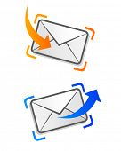 e-mail envelopes