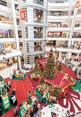 Christmas Time In Suria Klcc.