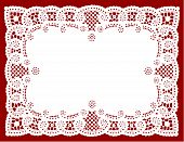 Filigree Lace Placemat