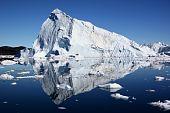 Eisberges in Jakobshavn, Grönland.