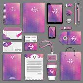 foto of letterhead  - Corporate identity template set - JPG