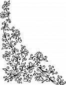 Baroque Pattern Vignette XCIV