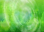 stock photo of formulas  - Ecology technology concept  - JPG