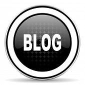 stock photo of blog icon  - blog icon - JPG