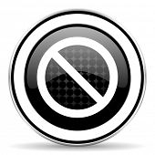 image of denied  - access denied icon - JPG