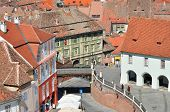 foto of sibiu  - bridge of lies sibiu city romania famous landmark - JPG