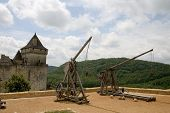 Trebuchets In Castelnaud, France