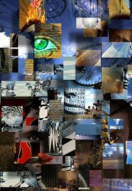 picture of surrealism  - Complex Surreal Abstract Art - JPG