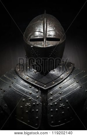 Ancient Metal Armor Of The