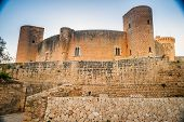 Постер, плакат: Bellver Castle fortress in Palma de Mallorca