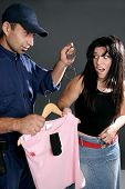 image of shoplifting  - shoplifting is a crime - JPG