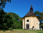 stock photo of nem  - Small church in Bystrica under Host - JPG
