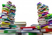 image of hardcover book  - Stacks of books - JPG