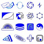 Set of symbols for the business