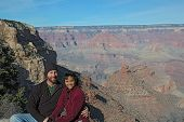 Couple at grand canyon2