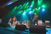 ATLANTIC CITY, NJ - AUGUST 29: The Black Crowes perform at The Borgata Hotel & Casino on August 29, 2009 in Atlantic City, NJ.