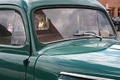 Old Green Truck Detail