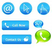 Call now or contact us buttons