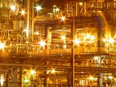 Lights On Gas Works
